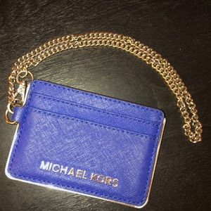 *NWOT* Michael Kors ID/Card Holder with Keychain